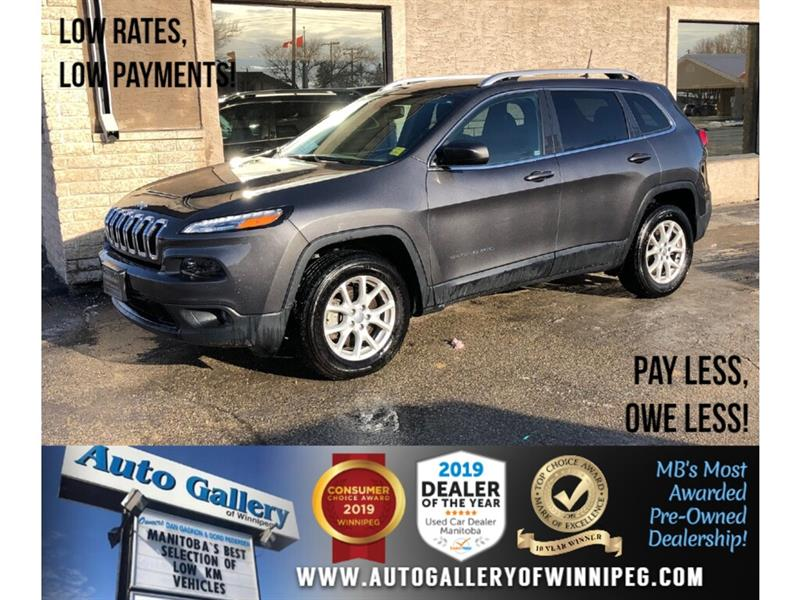 2018 Jeep Cherokee North *4x4/B.tooth/9Spd Auto #23969