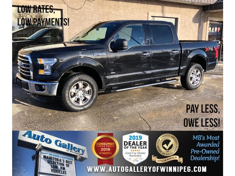 2015 Ford F-150 XLT XTR *Accident-Free/4x4/B.tooth/Ecoboost #23757C