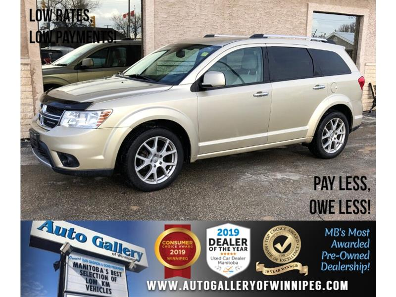 2011 Dodge Journey R/T *AWD/B.tooth/Htd Lthr/7 Pass #PR-24062