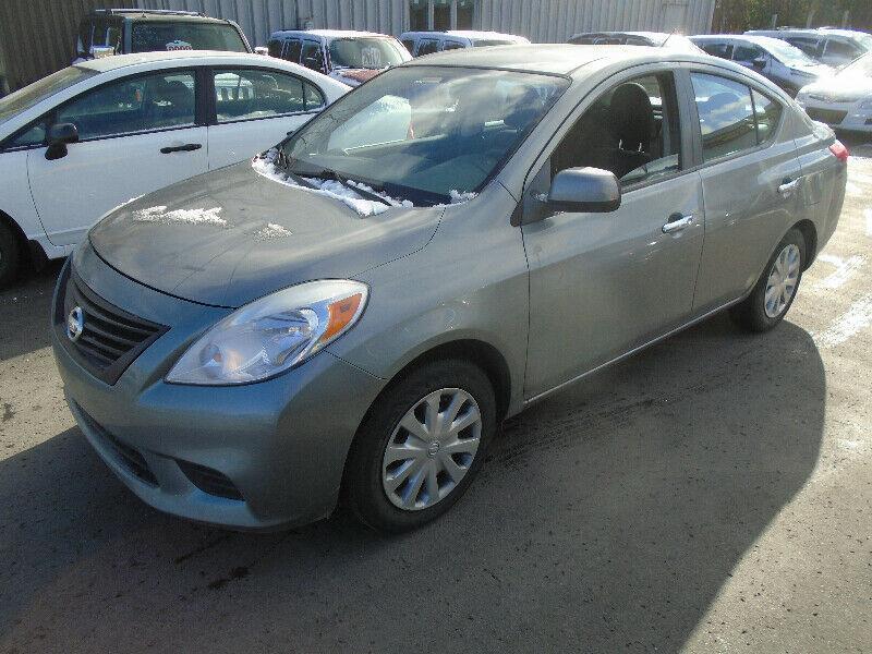 2012 Nissan Versa 4dr Sdn I4 1.6 #1086644