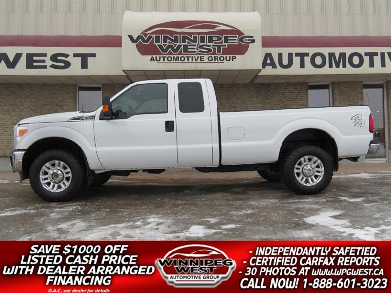 2013 Ford F-350 XLT 6.2L V8 4X4, 8FT BOX, HD TOW PKG WELL EQUIPPED #GW5330