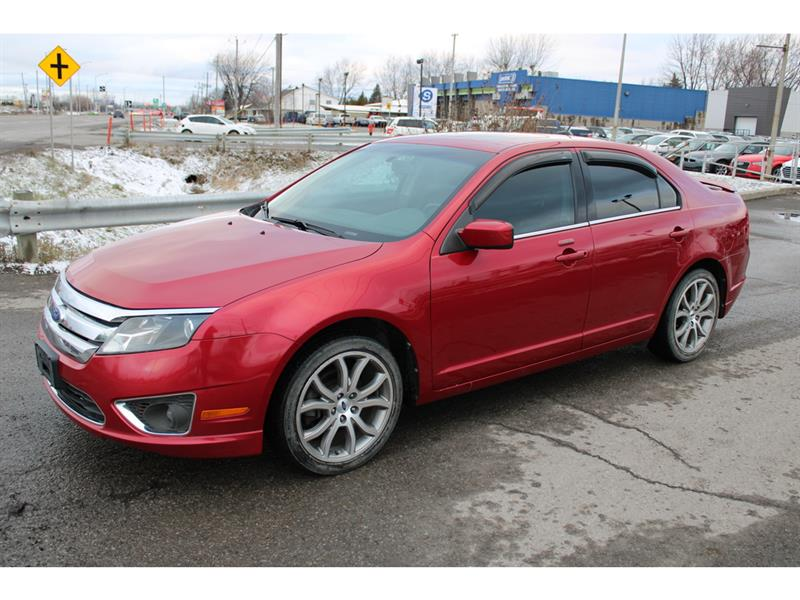 Ford Fusion 2011 V6 SEL AWD CUIR BLUETOOTH MAGS!!! #4988