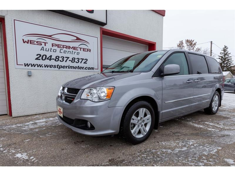 2016 Dodge Grand Caravan Crew **Manitoba Accident Free*Pwr Doors*DVD* #5657