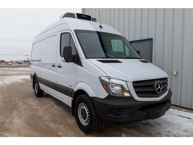2016 Mercedes-Benz Sprinter c/w Reefer and Food Grade insulated walls #5658
