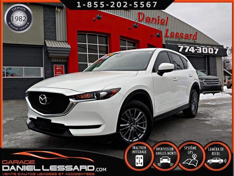 Mazda CX-5 2017 GS AWD, 2.5 L, AUTO, GPS, ANGLE MORT, CAM RECUL. #79639