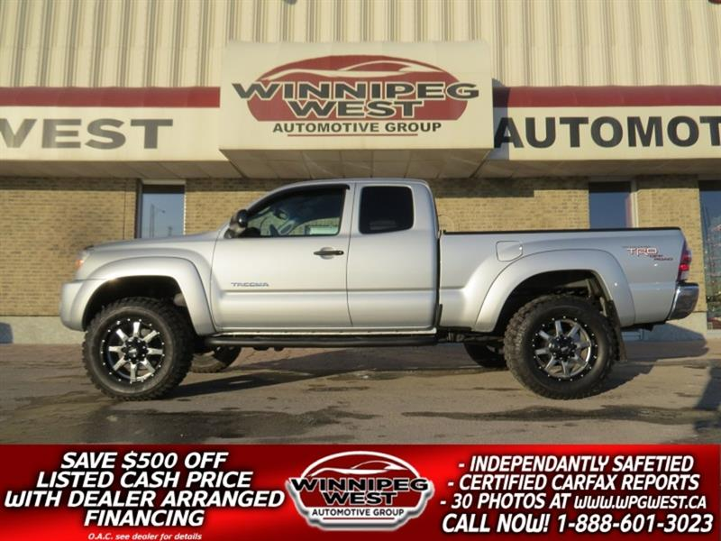 2009 Toyota Tacoma TRD V6 4X4, CLEAN 1-OWNER, BIG LOOKS, GREAT VALUE! #GW5363