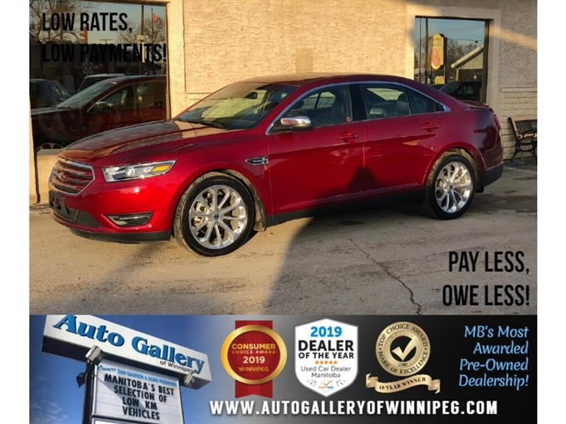 2018 Ford Taurus Limited *AWD/Navi/B.tooth/Htd Lthr/Roof #24223