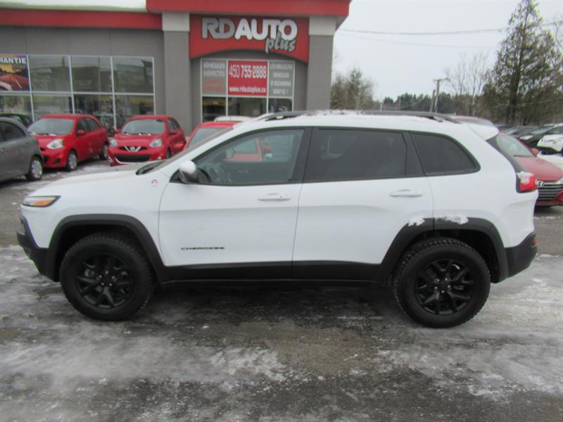 Jeep Cherokee 2018 Trailhawk Leather Plus 4x4
