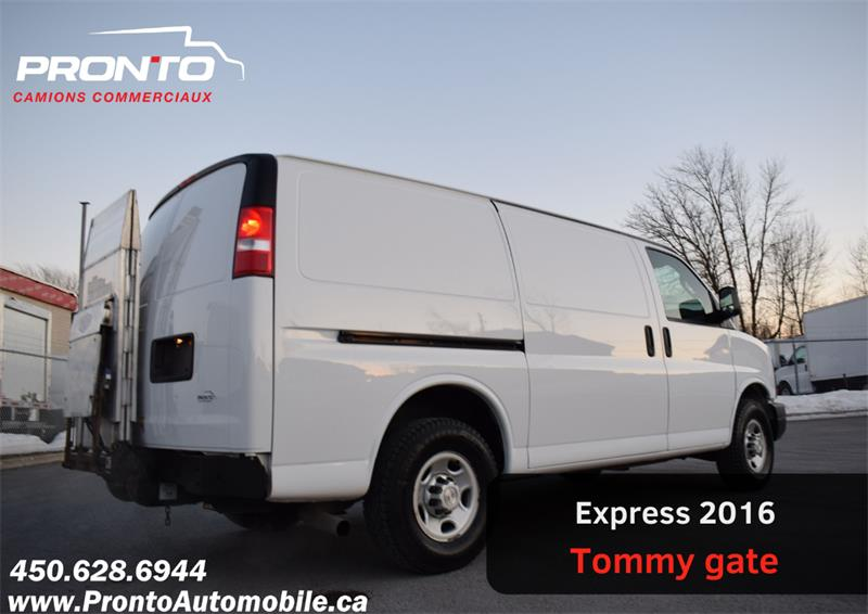 2016 Chevrolet Express Cargo Van RWD 3500 135 ** Voir équipement **  #1806