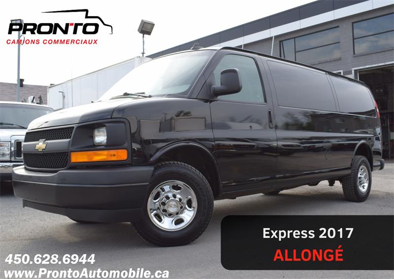 2017 Chevrolet Express Cargo Van 2500 Allongé / Ext. ** 4.8L ** GR. Électrique **  #1921