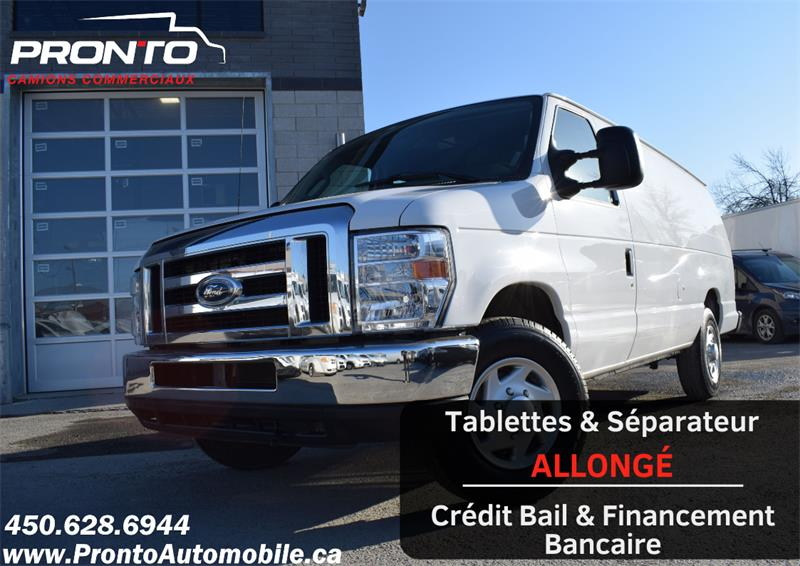 Ford Econoline Cargo Van 2013 E-350 Super Duty Ext Allongé  #1132
