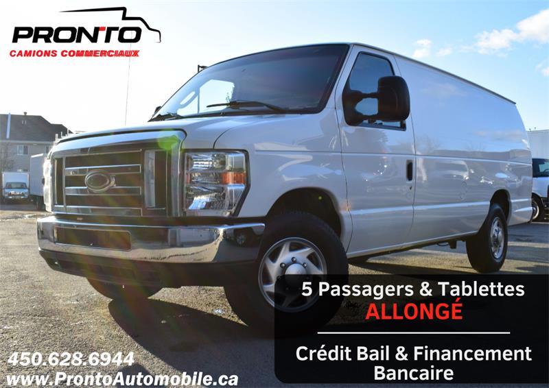 2013 Ford Econoline Cargo Van E-250 Ext/Allongé ** 5 PASSAGERS ** RARE ** #1104