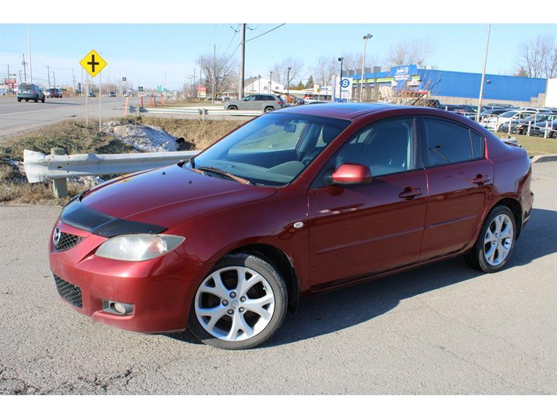 Mazda Mazda3 2008 GS MAN. A/C TOIT OUVRANT!!! #4997