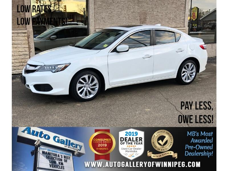 2016 Acura ILX Tech Pkg *1 Prev. Owner/Navi/B.tooth/Htd Lthr/Roof #24219