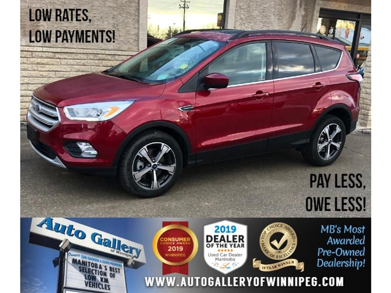 2018 Ford Escape SEL *AWD/Navi/B.tooth/Htd Seats/Pano Roof #24214