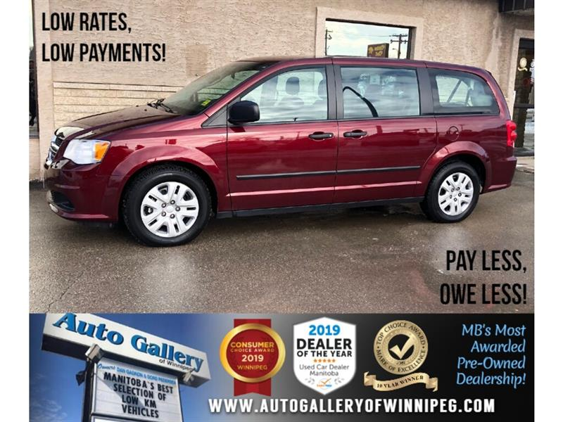 2017 Dodge Grand Caravan CVP *Local Unit/Low KMs/7Pass/V6 #PR-23951