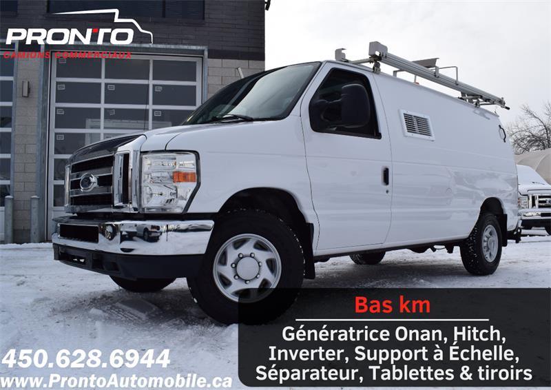 2011 Ford Econoline Cargo Van E-350 ** Génératrice Onan ** Full Rack ** #1171