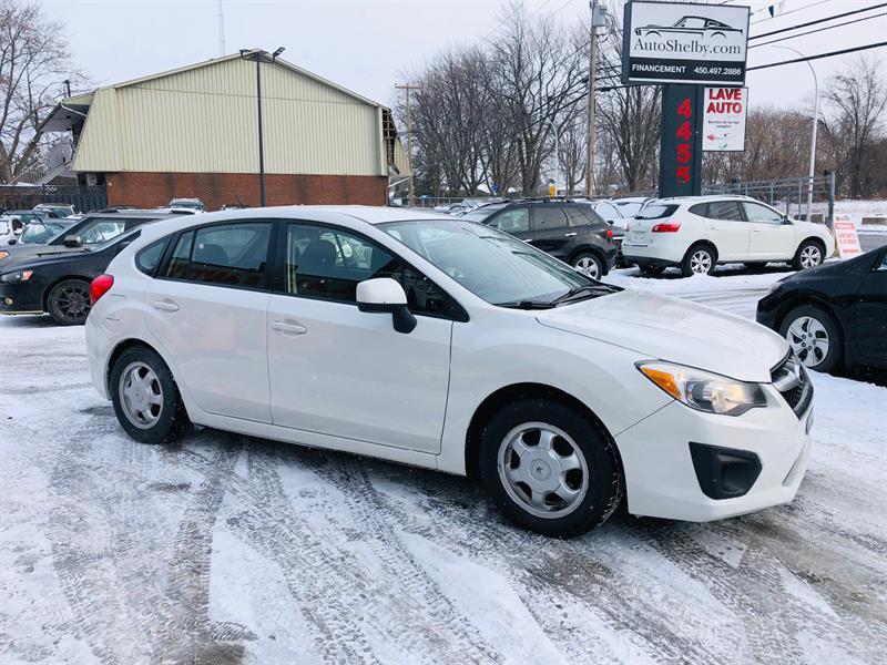 Subaru Impreza 2013 AWD-Air-Mags-Bluetooth-Propre-Jamais Accidentée #98715-2