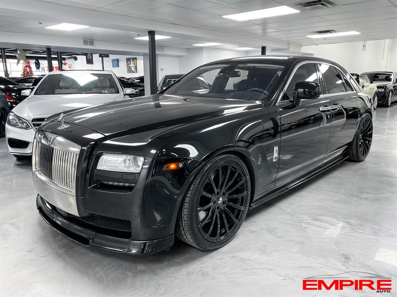Rolls-Royce Ghost 2010 NIGHTVISION ADAPT CRUISE #A49062