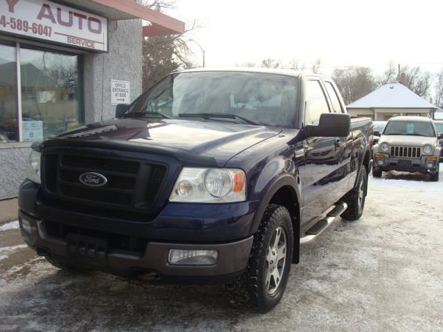 2004 Ford F-150  SUPERCAB F X 4