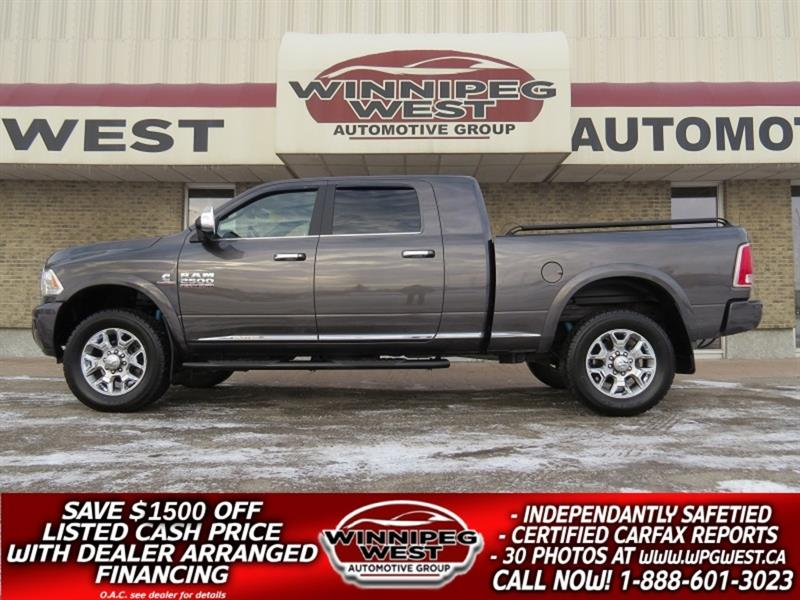 2017 Ram 2500 LIFTED LIMITED ED MEGA 6.7L CUMMINS 4X4-ALL OPTION #DWL5334