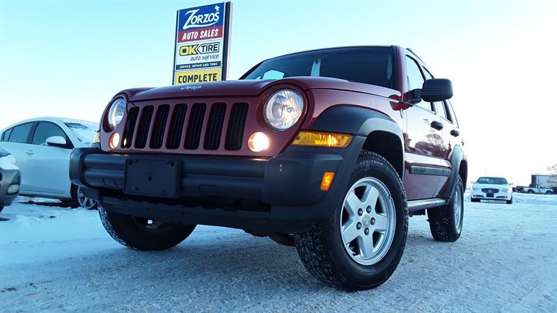 2006 Jeep Liberty Sport #P615