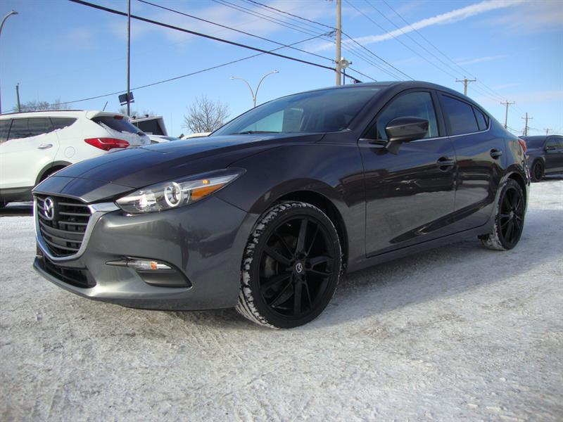 2018 Mazda Mazda3 SPORT CUIR 19MAGS-CAMERA-BLUETOOTH #M000017