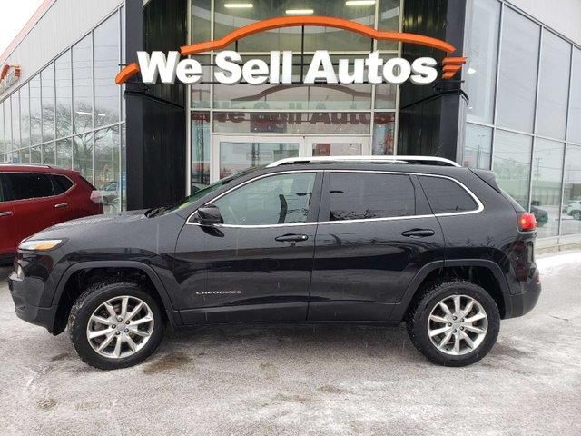 2014 Jeep Cherokee Limited #18NM7957A