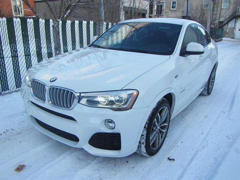 BMW X4 2016 M.PACKAGE*AWD *PAY WEEKLY $79 SEMAINE * #2593 ***R20257