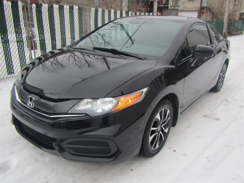 Honda Civic 2015 EX*SUNROOF MAGS  2 DOOR  PAY WEEKLY $49 SEMAINE #SA2085 ***000116