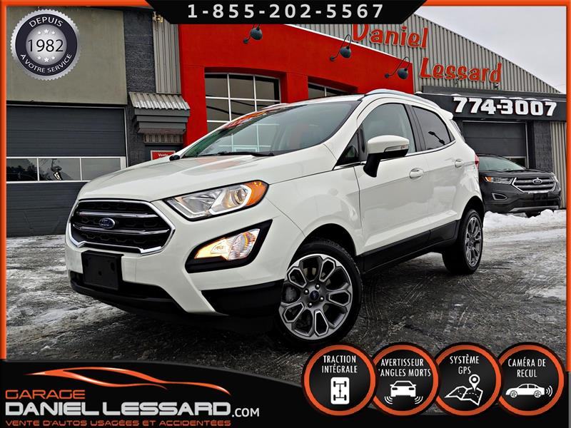 Ford EcoSport 2019 TITANIUM, 2.0, GPS, CUIR, TOIT OUVRANT, MAG 17 P #99174