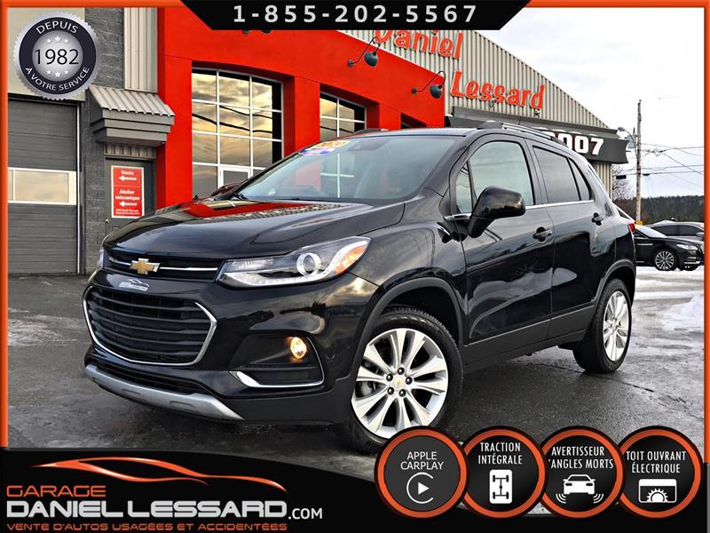 Chevrolet Trax 2020 PREMIER AWD, CUIR, TOIT, DEAL!!! #09724