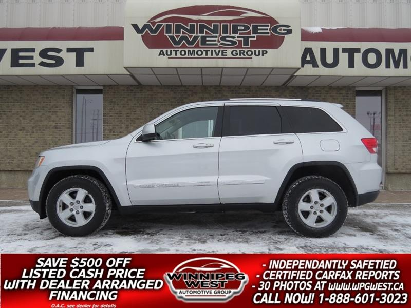 2011 Jeep Grand Cherokee LAREDO 4X4, *$99 BI-WEEKLY, MB SUV WITH UPGRADES #GNW4088