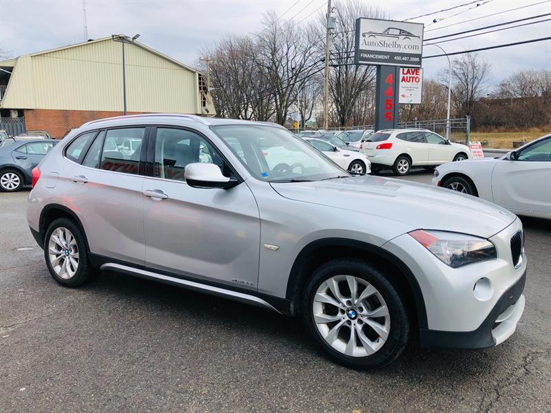 BMW X1 2012 AWD-Cuir-Toit-Air-Mags-Bluetooth-Siéges Chauffant #98721-2