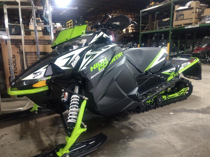 Arctic Cat XF 8000 2018 HIGHT COUNTRY LTD 141 #33997STP
