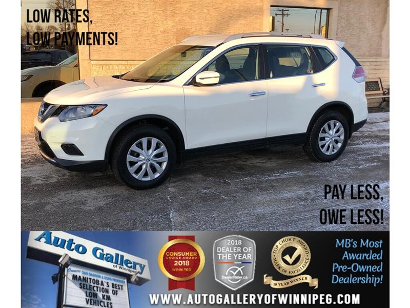 2016 Nissan Rogue S *B.tooth/Backup Cam #23962