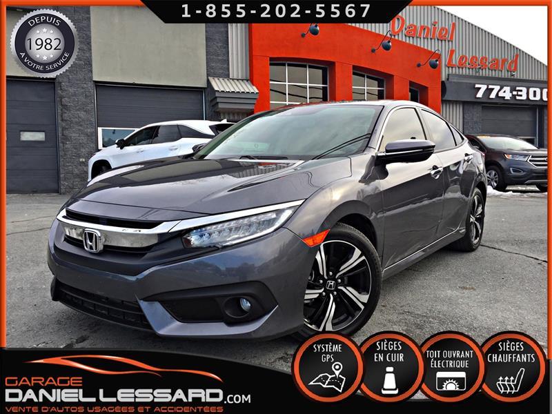 Honda Civic Sedan 2018 TOURING, CUIR, TOIT, GPS, MAG 17 #89774