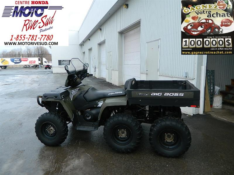 Polaris Sportsman 6X6 2012