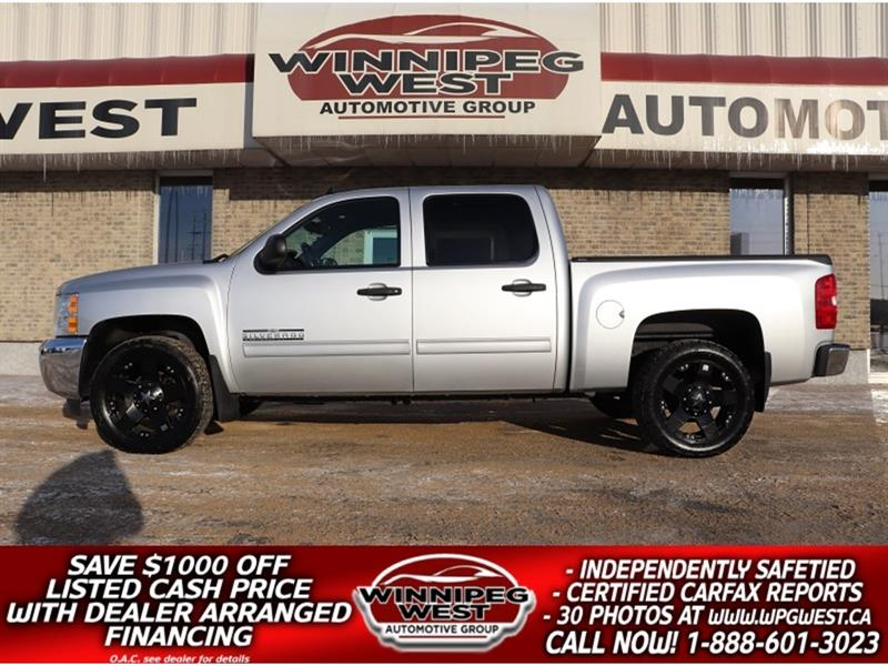 2012 Chevrolet Silverado 1500 CHEYENNE EDITION CREW V8 4X4, LOW LOW PAYMENTS!! #GW5030