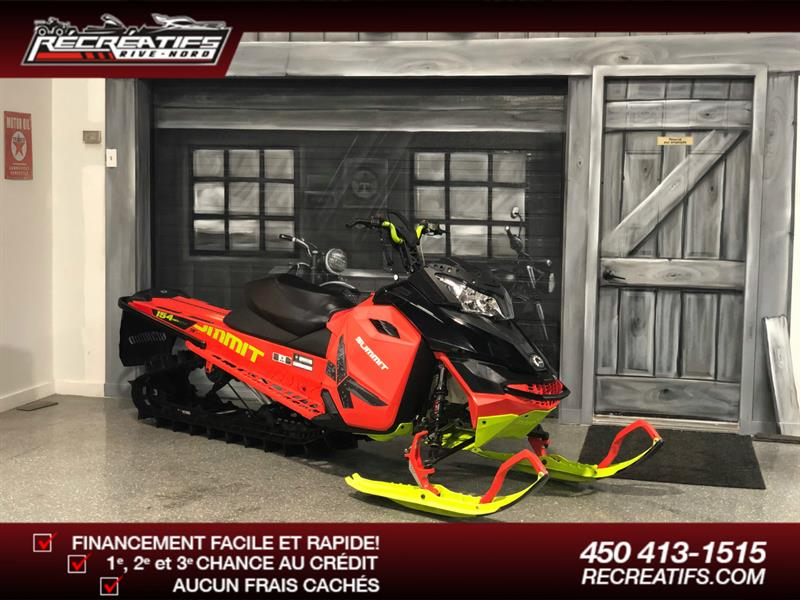 Skidoo Summit X 800R 2016