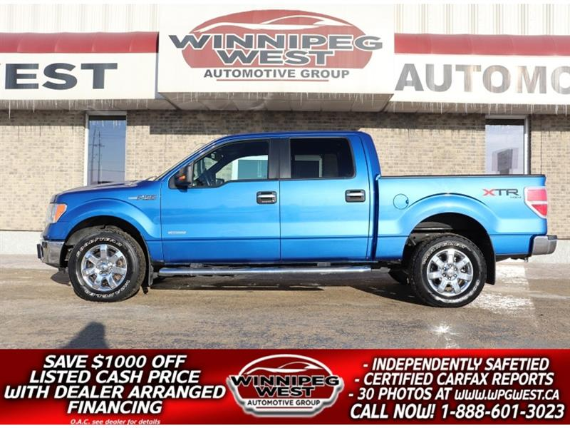 2014 Ford F-150 XTR EDITION CREW 4X4, ECO-BOOST, LOCAL TRUCK! #GW5066