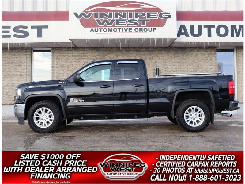 2017 GMC Sierra 1500 SLE KODIAK EDITION  5.3L Z71 4X4, CLEAN LOCAL TRK #GW5160