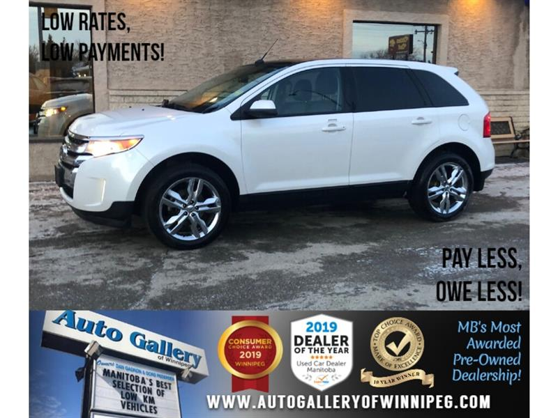 2013 Ford EDGE SEL *Local Trade! FWD/B.tooth/Htd Lthr/Roof/V6 #24188A