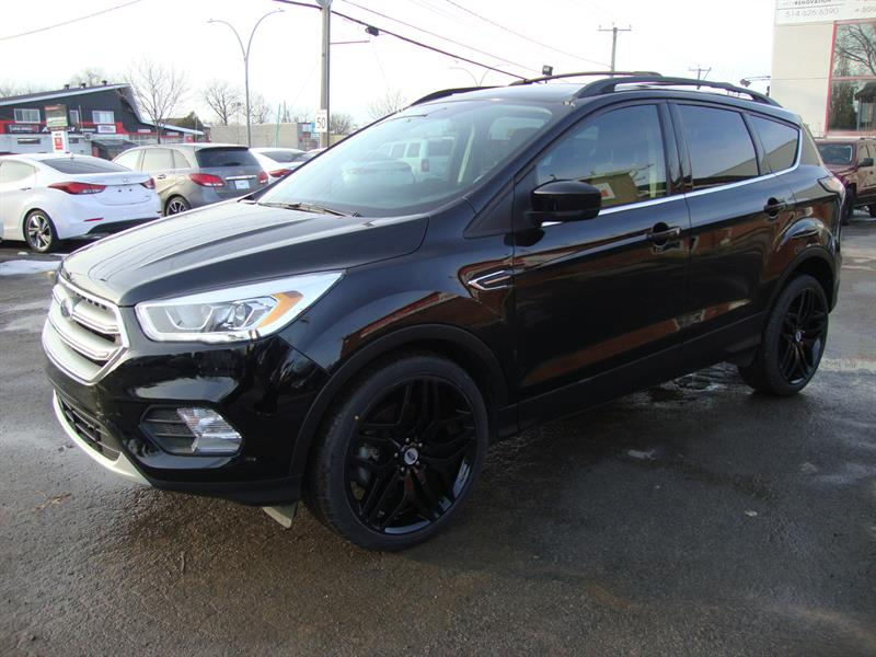 2017 Ford Escape FWD SPORT 20MAGS-NAVIGATION-TRUNK-BLACK EDITION #M000005