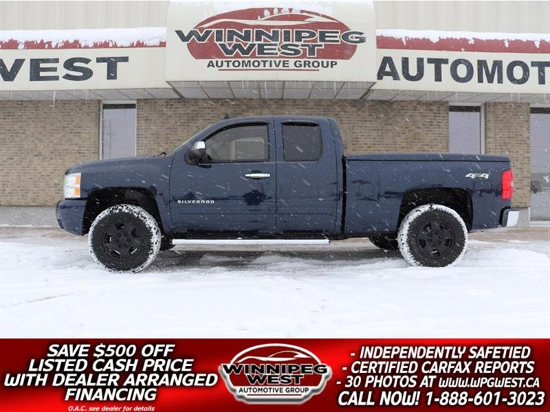 2010 Chevrolet Silverado 1500 LT 5.3L V8 4X4, LOCAL TRUCK, SUNROOF, REMOTE START #GW5171