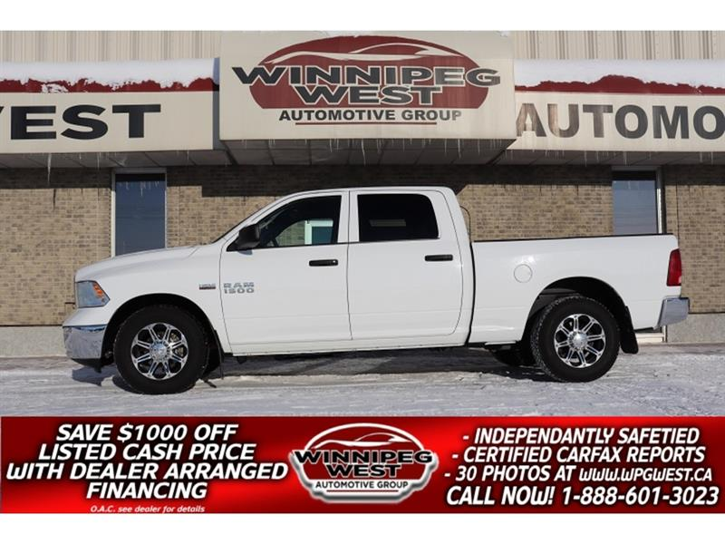2016 Ram 1500 *$195 BI-WEEKLY 5.7 HEMI CREW 4X4, LOTS OF EXTRAS #GW5263