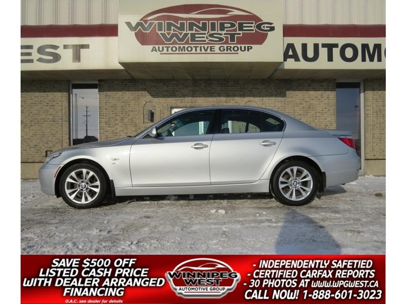 2009 BMW 535i Xdrive TWIN TURBO, ALL WHEEL DRIVE, BLUETOOTH, LOW KMS! #W3696