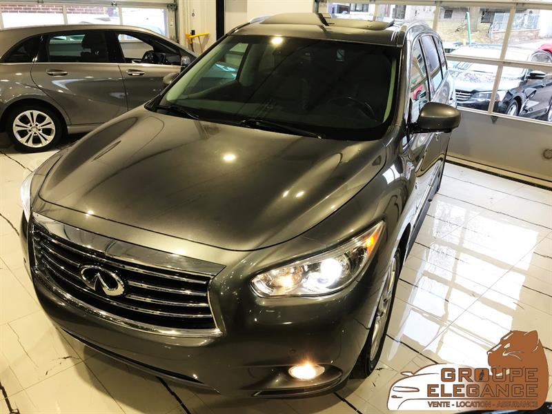 2015 Infiniti Qx60 AWD PANORAMIC ROOF, DOUBLE DVD, NAVI, LEATHER #FC546558