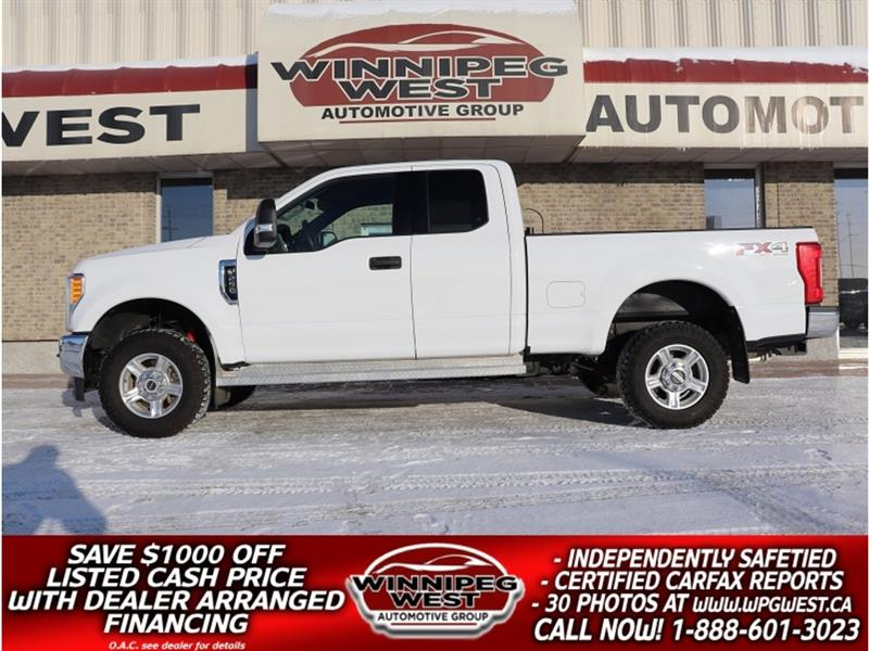 2017 Ford F-250 FX4 4X4, IMPROVED 6.2L V-8, CLEAN & ACCIDENT-FREE! #GW5222