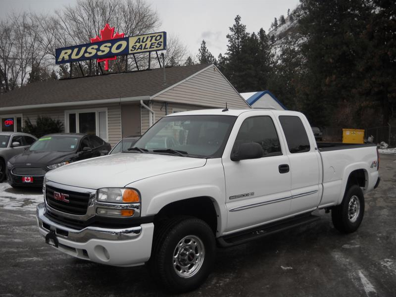 2003 GMC Sierra 2500HD XCAB, 4WD....SOLD.... #3453